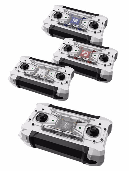 FQ777-124 RC Drone Mini Quadcopter Micro Pocket 4CH 6Axis Gyro Switchable Controller Helicopter Kids Toys VS JJRC H37 H31 Retail Box 10pcs