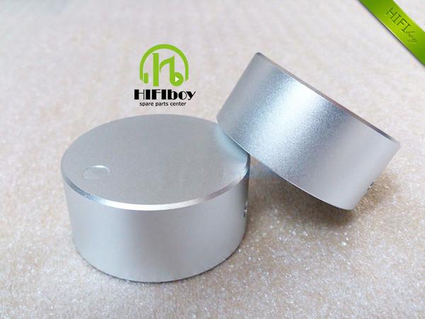 Aluminum Volume knob 10pcs Diameter 48mm Height 22mm amplifier knob speaker knob