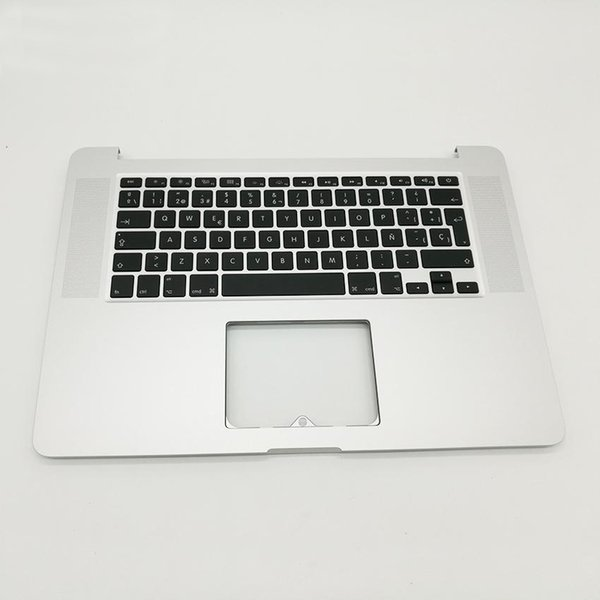 "New SP Spain Spainish Top Case Keyboard For MacBook Pro 15"" A1398 Retina ME294 ME293 Late 2013 2014 Top case & Keyboard"