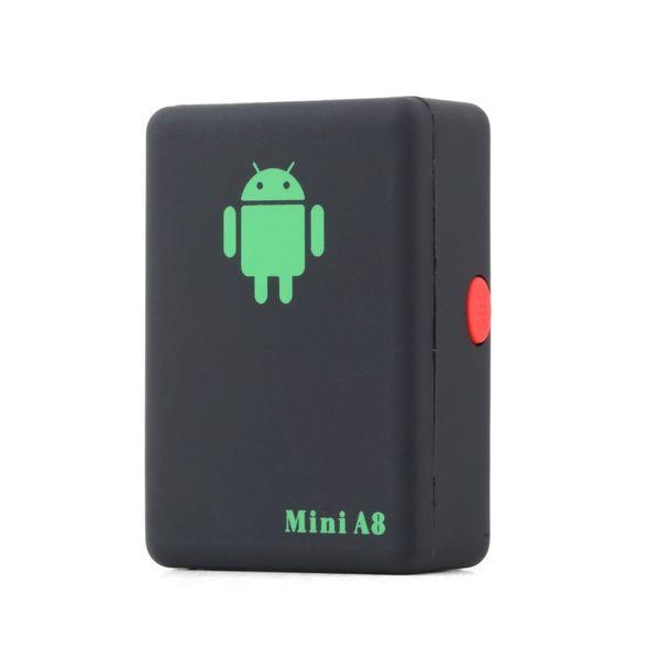 GPS Tracker Mini A8 LBS Global En Temps Réel GSM / GPRS / GPS Tracking Device Avec SOS Bouton Voitures Enfants Elder Animaux Locator Finder