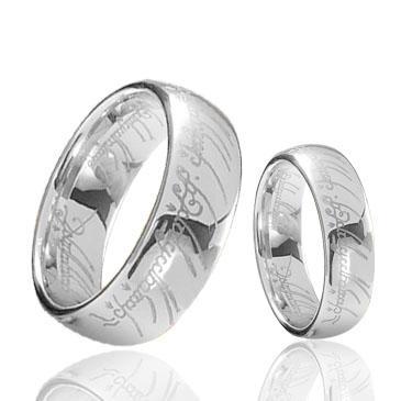 Magic laser engraving Tungsten Ring wholesales 8mm for men