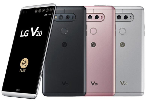 Refurbgished Original LG V20 H990N H910 H918 VS995 Unlocked Cell Phone 4GB/64GB 5.7 Inch Dual 16MP+8MP Android 7.0 4G LTE