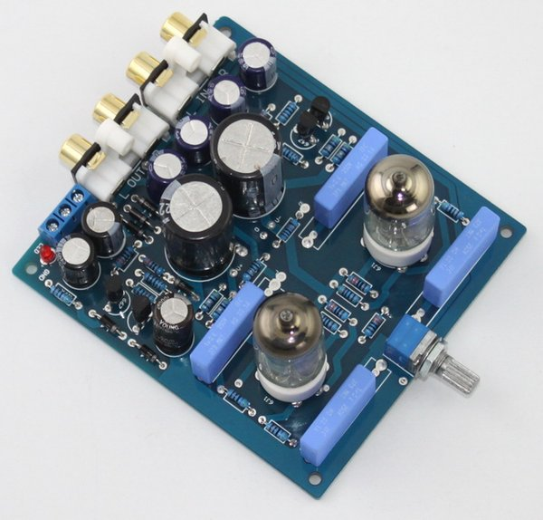 Freeshipping NEW 6J1 tube preamp board tube amplifier audio amplificador