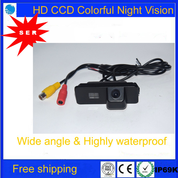 Car Rear View Backup CAMERA Reversing for VW GOLF V GOLF 5 SCIROCCO EOS LUPO PASSAT CC POLO PHAETON BEETLE SEAT VARIANT