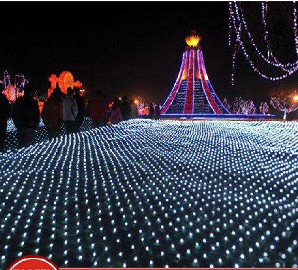 twinkle light netting coupons wholesale 46m 750 led net string light ac220v