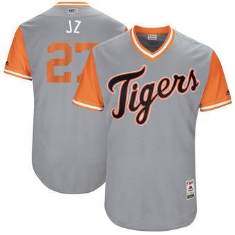 the latest 41793 08a72 2019 Baseball Jerseys Mlb Sports Detroit Tigers Jordan Zimmermann J Z  Majestic Gray 2017 Players Weekend Authentic Jersey Throwback Cheap Custom  From ...