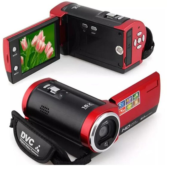 C6 Camera 720P HD 16MP 16x Zoom 2.7'' TFT LCD Digital Video Camcorder Camera DV DVR MOQ:1PCS