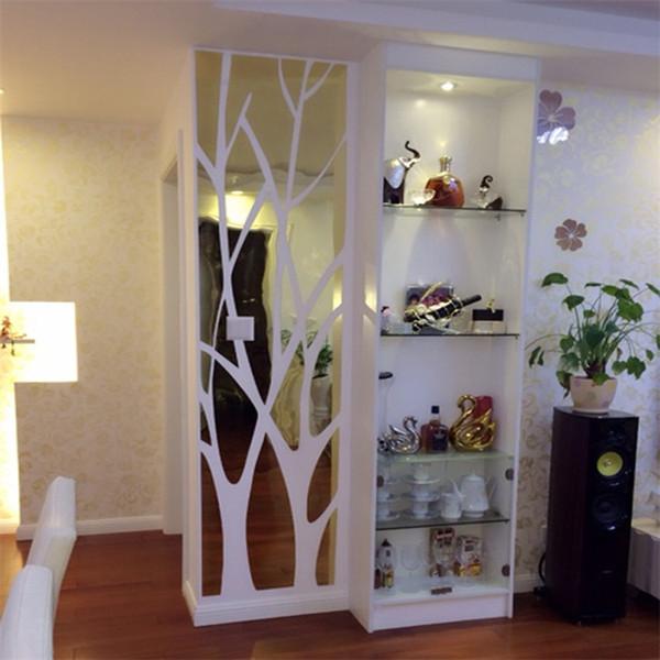 Großhandel 3D Große Baum Muster Acryl Wandaufkleber Mode Hause Dekorative  Spiegel Wohnzimmer Schlafzimmer TV Hintergrund Aufkleber Von Tongli0410, ...