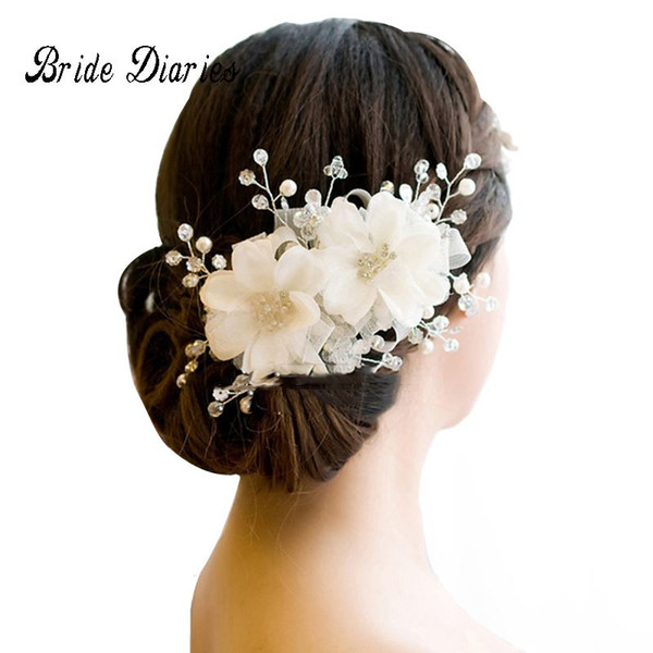 2018 hair ornaments wedding hair accessories floral headdress hair ornaments wedding hair accessories floral headdress romantic lace hairwear flower wedding bride hair accessories bridal junglespirit Image collections