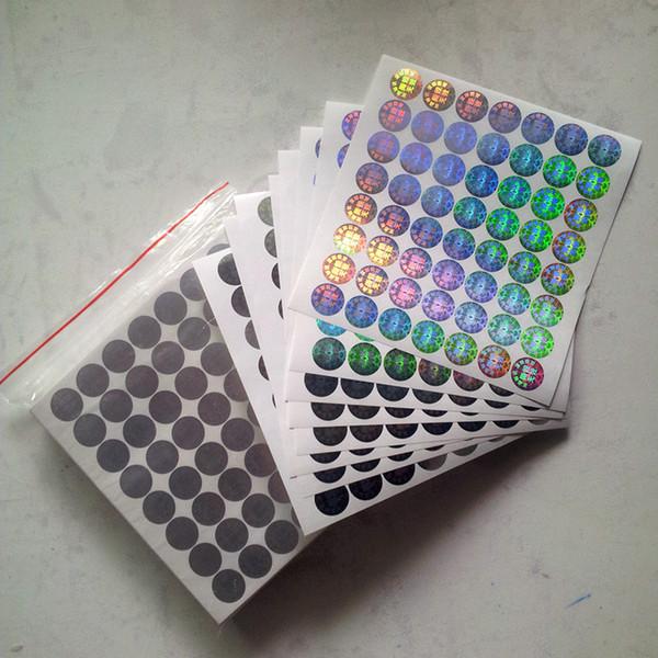 best selling custom high quality color rainbow anti-fake box bottle seal hologram sticker label