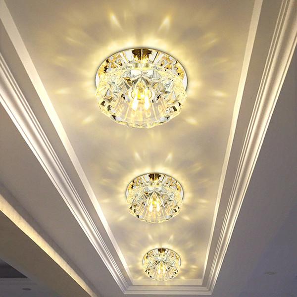 Flush Mount Small LED Ceiling Light for Art Gallery Decoration Front Balcony lamp Porch light corridors Light Fixture