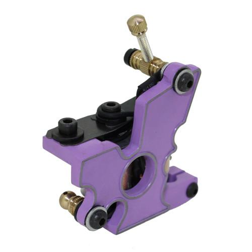 New Coil Tattoo Machine 10 Wraps Professional Three Color Steel Tattoo Gun Machine For Liner & Shader For Free Shipping