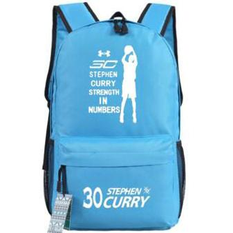 Stephen Curry backpack Player fans daypack MVP star schoolbag Basketball rucksack Sport school bag Outdoor day pack