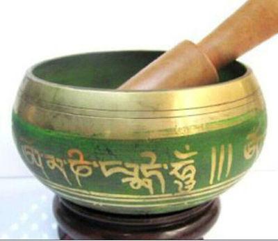 Tibetan Buddhism Cuprum Mantra Singing Bowl Yoga Bowl FDY