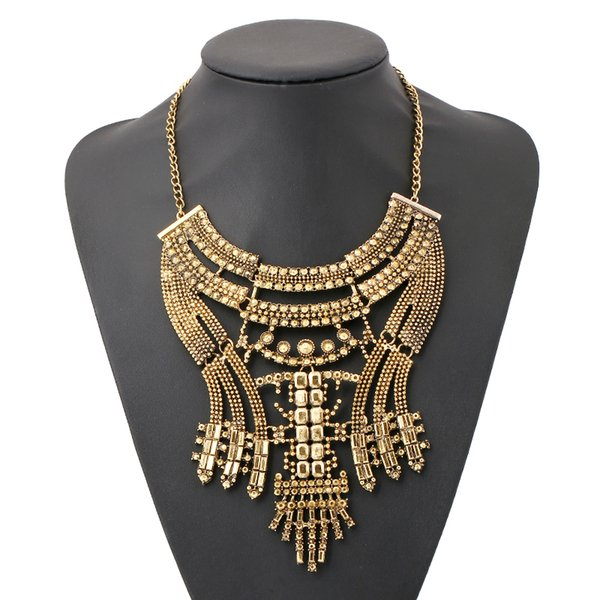 collier femme 2017 or