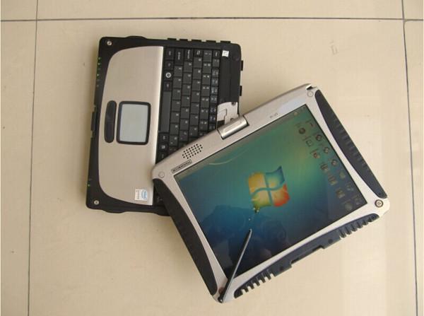 del alldata con el ordenador portátil