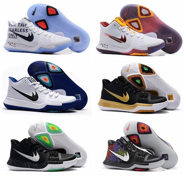 huge selection of 22467 d373e Cheap Kyrie 3 Basketball Shoes Men Women Orange Crossover Huarache Cavs  Kyrie Irving 3s Iii Basketball Sports Shoes Replicas Sneakers Size 5 ...