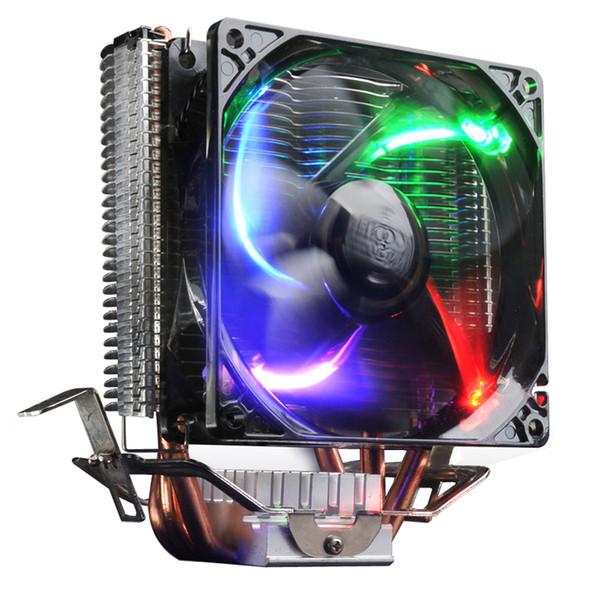 PCCOOLER Ultra-Ruhiger 4-Pin-Lüfter CPU-Kühler für Intel LGA 775/1155/1156/2011 AMD AM2 + / AM3 / FM1 / AM2 / 939 Lüfter Kühlung