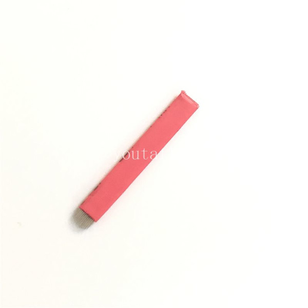 500 PCS Red U Shape Makeup Microblading Eyebrow Tattoo Permanent Manual Blade 12 Needle
