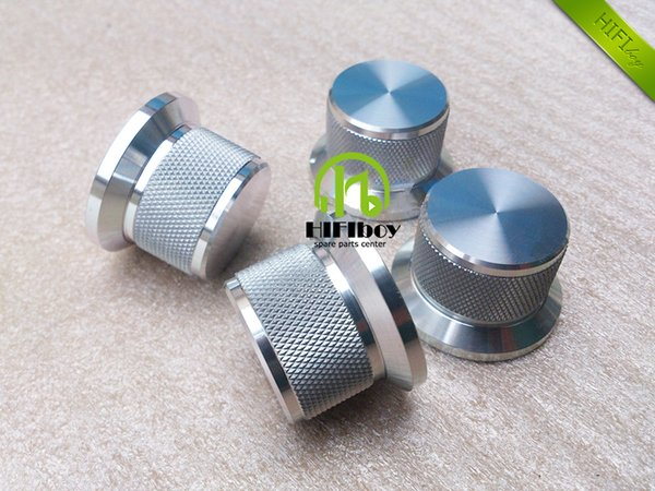 HIFI amp Aluminum Volume knob 10pcs Diameter 38mm Height 25mm amplifier knob speaker knob