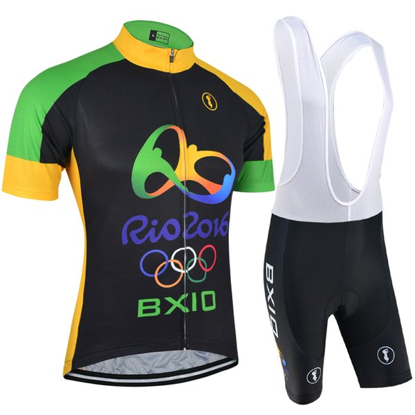 best selling 2016 BXIO Brand New Arrivals The Olympic Style Cycling Jerseys Sets Short-Sleeved Suit Can Be Called Bikes Cothes Uniforme Ciclismo BX-126