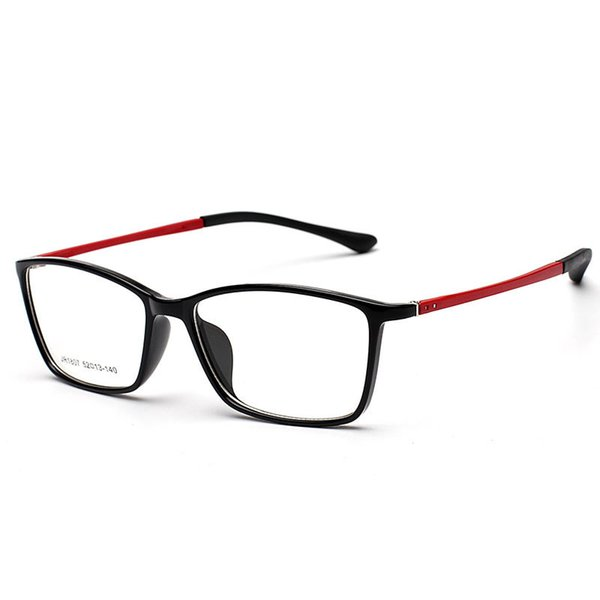 Wholesale- 2017 Optical Light Glasses Frame Women Men Computer Glasses Frames Male Gaming Eyeglasses Frame Fit For Clear Lens Oculos YJ61
