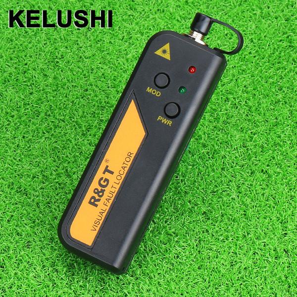 Al por mayor- KELUSHI 30mw Red Laser Light Fiber Optic Cable Tester Visual Fault Locator también 30KM Checker