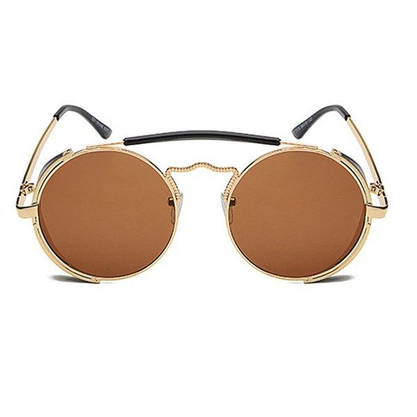 C5 Gold Frame Brown Lens