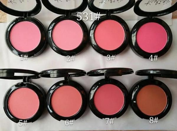 Новый бренд макияж Кайли Дженнер румяна 8 цветов комплект Кайли лицо румяна макия