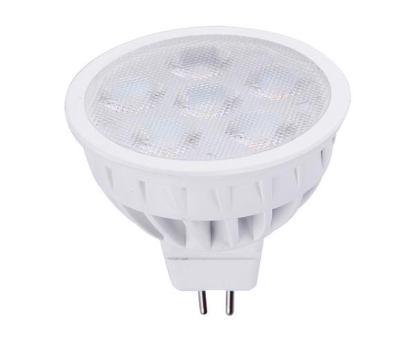SMD führte Glühlampen gu10 MR16 6pcs 6W Dimmable geführte Scheinwerfer führte Downlightlampen CER UL DHL-Verschiffen