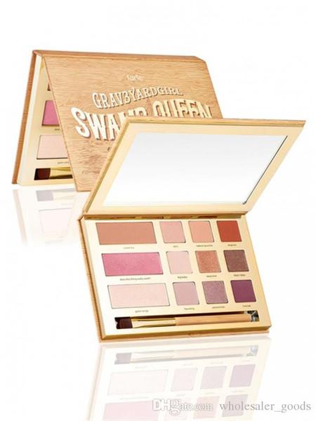 Neue Lidschatten Make-up Kosmetik Schimmer Matte Lidschatten Palette Set Kit Swamp Queen Eye und Wange Palette Neu