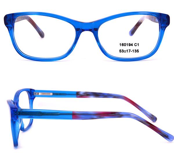Compre Eye Glasses Acetato Para Hombres Y Mujeres Gafas Ópticas ...