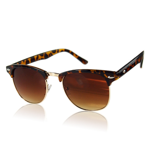 Wholesale- Hot Sale Vintage Womens Mens Designer Oversized Sunglasses Glasses