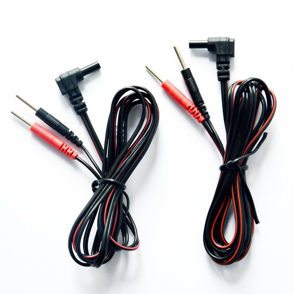 DC 2.35mm Plug 2.0mm Tens Electrode Lead Wires