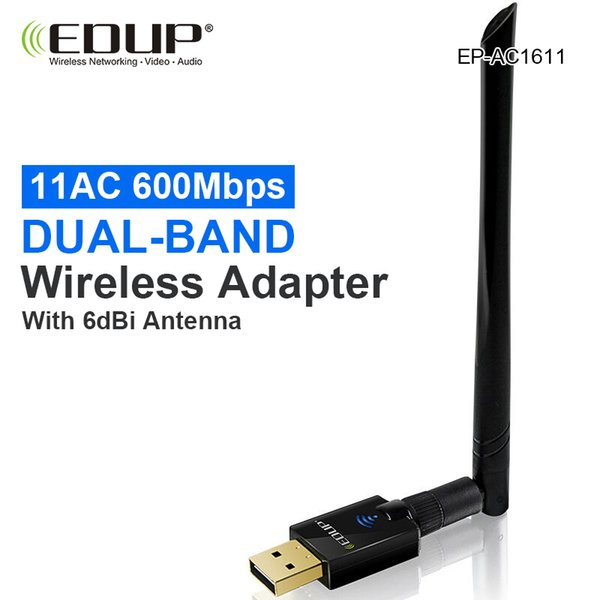 150Mbps Receiver 6dBi Dongle EDUP Wireless USB 2.4GHz Card Dongle Network WiFi