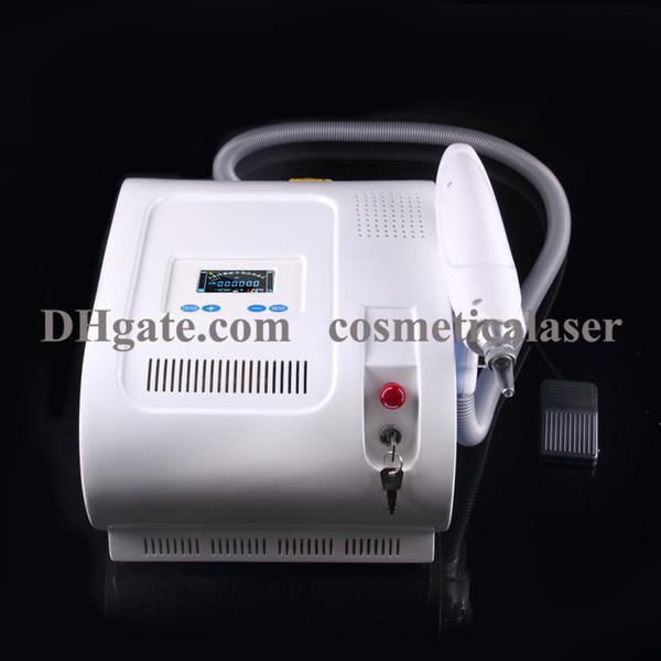 Remoção quente da tatuagem do laser do yag do nd do interruptor da venda Q, máquina da remoção da tatuagem do laser do yag do nd