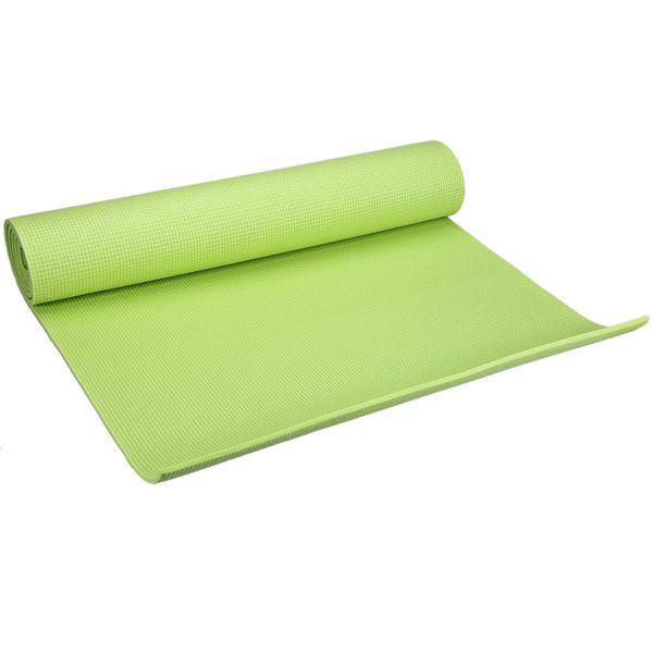 Al por mayor-Equipo de Deporte caliente 173 x 61 x 0.6 cm PVC Yoga estera gruesa ejercicio Fitness antideslizante gimnasio cojín yoga deportes accesorios