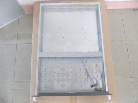 1u Computergehäuse PC-Größe Motherboard 3 Festplatte 1U Server Industrie-Computergehäuse Gürtel 4 Lüfter 100% perfekte Qualität getestet