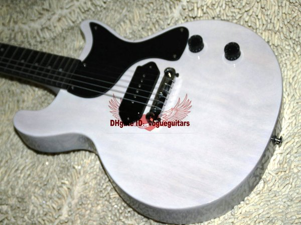 OEM Musical instruments New Arrival White Electric Guitar free shipping
