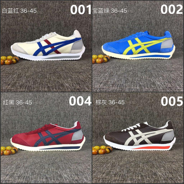20182017 Fashion Sneakers Onitsuka Tiger Badminton 68 Classic Badminton Shoes Factory Price