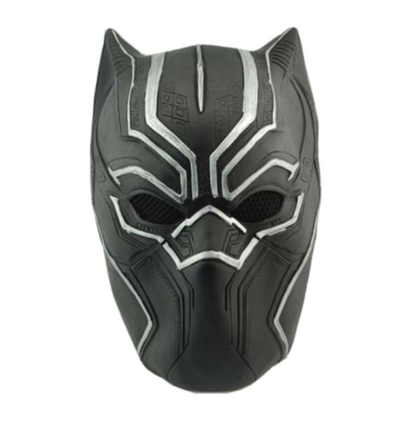 NUEVA Máscara de pantera negra Capitán América, traje de guerra civil, máscara de cosplay, casco