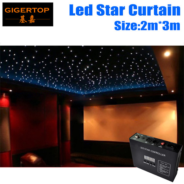 Fireproof 2M*3M Light Curtain Led Star Curtain 90V-240V RGBW Color,5mm Tyanshine LED Star Cloth Wedding Backdrops Led Cutains Factory Price