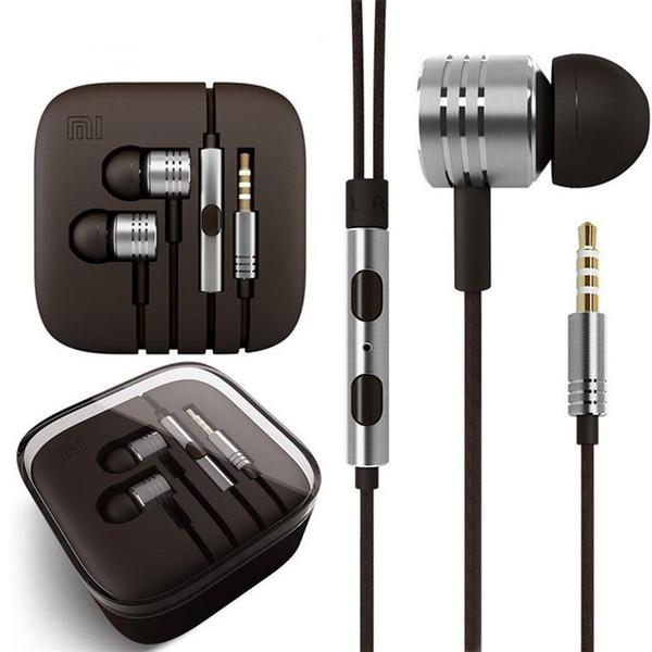 Xiaomi kolben kopfhörer 3,5mm jack kopfhörer headset in-ohr kopfhörer stereo ohrhörer für xiaomi htc samsung mit mikrofon fernbedienung