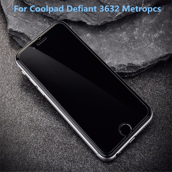 For CoolPad Defiant For ZTE Avid 4 MetroPCS A30 Fierce Blade Z Max MetroPCS Tempered Glass Screen Protector Film With retail packaging