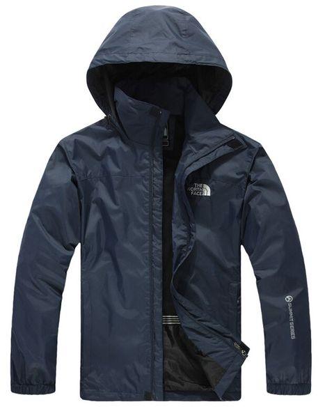 Heißer Verkauf Frühling Herbst neue Herren Outdoor Sport Jacke Männer Mode Kapuzenjacke Männer Windbreaker Zipper Wasserdichte Mäntel