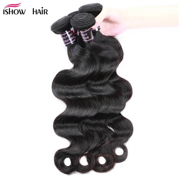 Body Wave Human Hair Bundles Peruvian Indian Virgin Hair Bundles Cheap 8A Brazilian Hair Bundles 10PCS Wholesale For Black Women
