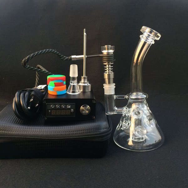 Electric Heating E Digital nail kit Heating Coil flat 16mm 20mm Heady Fab Egg bong Glass water pipe Glass rig smoking oil rigs
