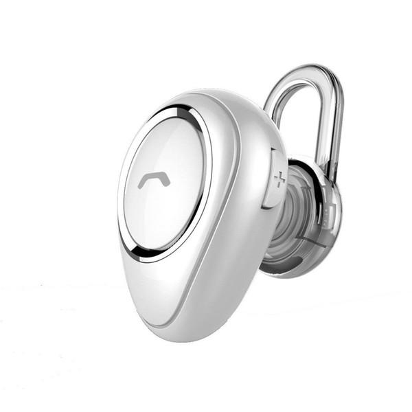 Auricular Bluetooth Mini Inalámbrico Bluetooth 4.1 En la oreja Más pequeño super invisible Manos libres Auricular Auricular Auricular con micrófono para teléfono celular