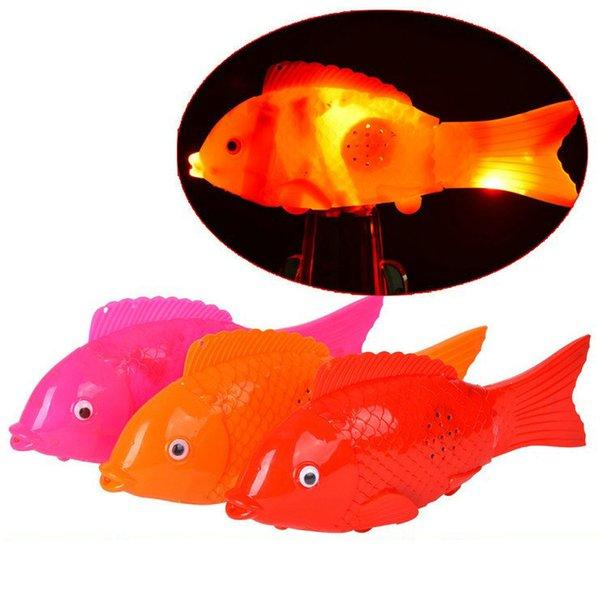 The stall selling radiant electric fish free fish tail lights do lantern toys wholesale