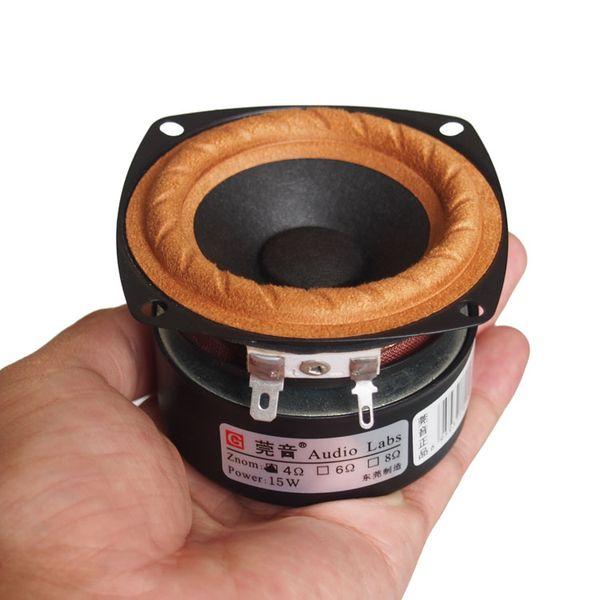 Wholesale 2PCS / LOT Audio Labs 3 '' Full Range Frequenz Lautsprecher 3-Zoll-Einheit mit Hochtöner Medium und Bass-Effekt Heimkino
